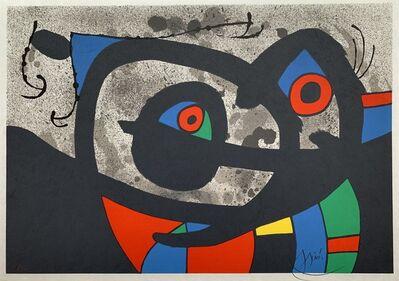 Joan Miró, 'Le Lézard aux Plumes d'Or', 1971