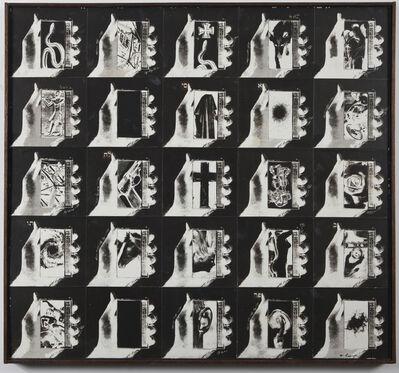 Wallace Berman, 'Untitled (C3-Cross)', 1975
