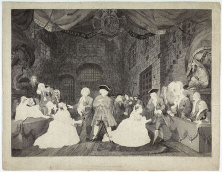 William Blake (1757-1827), 'The Beggar's Opera, Act III', 1788