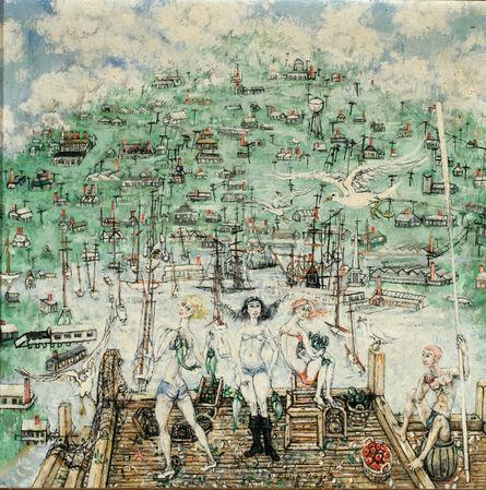 Philip Evergood, 'Judgement of Paris', ca. 1950