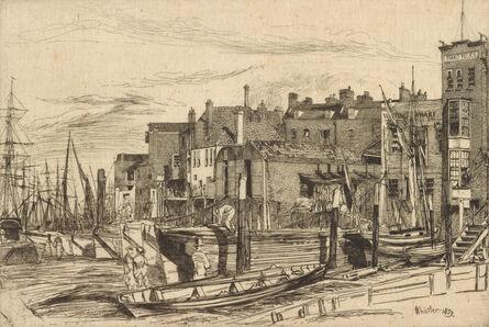 James Abbott McNeill Whistler, 'Thames Police', 1859