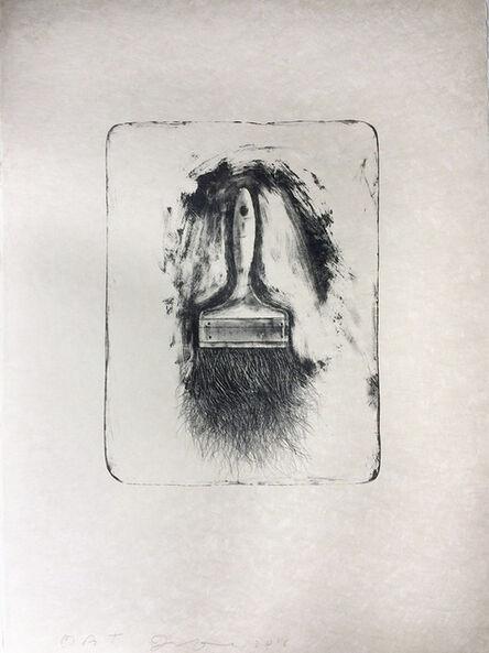 Jim Dine, 'Brushes Drawn on Stone #1', 2010