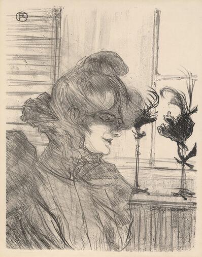 Henri de Toulouse-Lautrec, 'Le Margoin (Mademoiselle Louise Blouet)', 1900