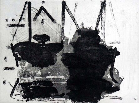 Paul Resika, 'Boats at the Pier', 2001