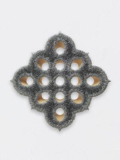 Donald Moffett, 'Lot 043016 (silver)', 2016