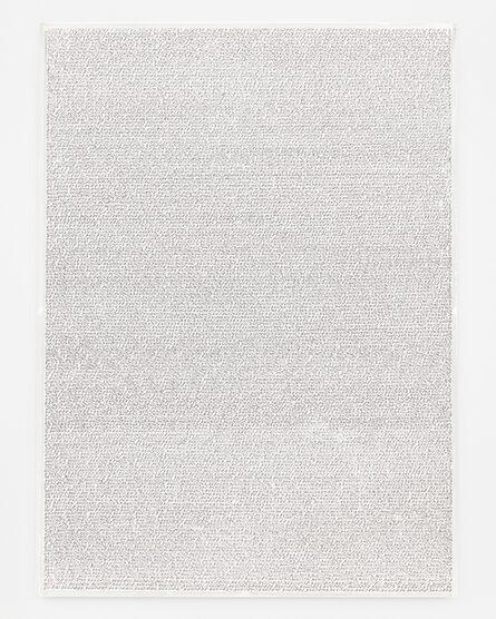 Roman Opalka, 'Detail 3657832-3660848', 1965