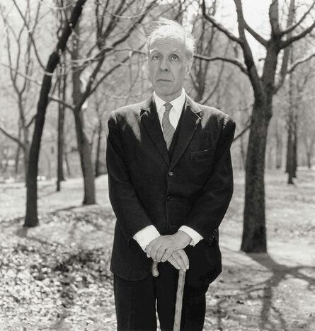 Diane Arbus, 'Jorge Luis Borges In Central Park, N.Y.C.', 1969