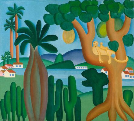 Tarsila do Amaral, 'Postcard (Cartão-postal)', 1929