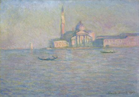 Claude Monet, 'The Church of San Giorgio Maggiore, Venice', 1908