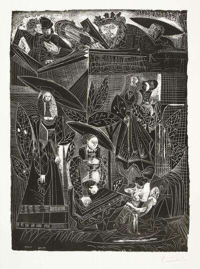 Pablo Picasso, 'DAVID ET BETHSABÉE (after Lucas Cranach)', 1949