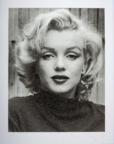 Russell Young, 'Marilyn Hollywood (Black and White)', 2019