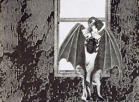 Stacey Steers, 'Phantom Canyon (batwing man, woman, beetle)'