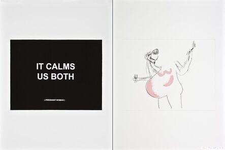 Laure Prouvost, 'It calms us both - 1', 2013