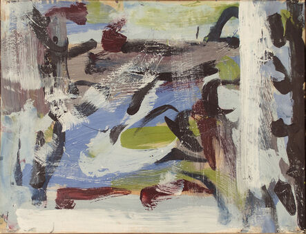 Jean-Paul Riopelle, 'Untitled Composition', 1958
