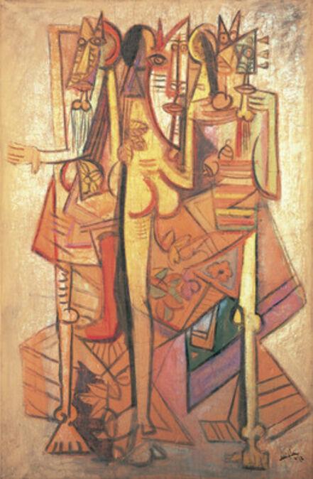 Wifredo Lam, 'La Réunion, 1 (Groupe)', 1942