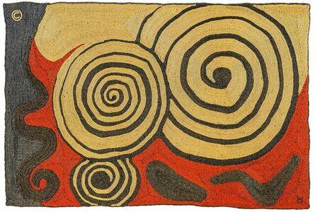 Alexander Calder, 'Three Concentric Circles', 1974