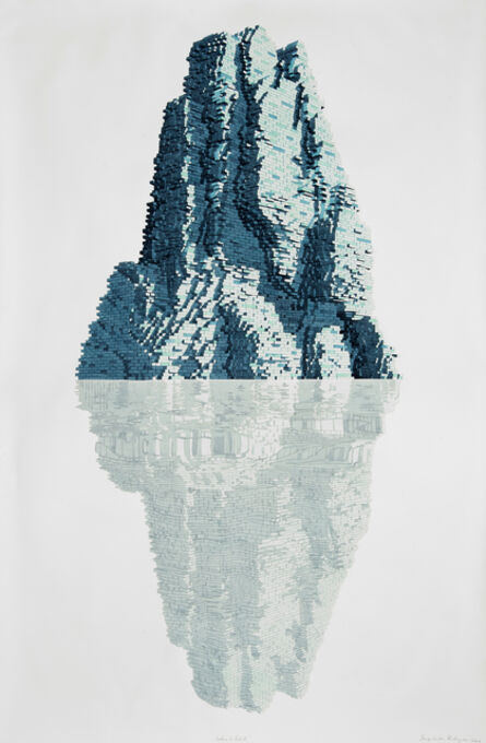 Dagoberto Rodríguez, 'Iceberg de Ladrillo', 2020