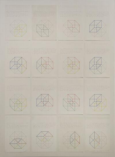 Elena Asins, 'Zettel L. Wittgenstein', 1986-1991