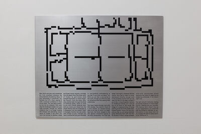 Sam Pulitzer, 'Individual User Activity and Navigation Log; Collectible 4 of 5 (Dungeon of Wire and Pipe)', 2014