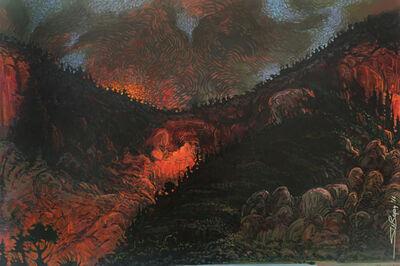 Shonto Begay, 'Rincon Inferno', 2016