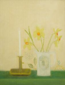 Craigie Aitchison, 'Candlestick Still Life', 1960
