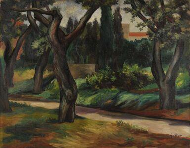 Renato Guttuso, 'Parco di Villa Massimo', 1951