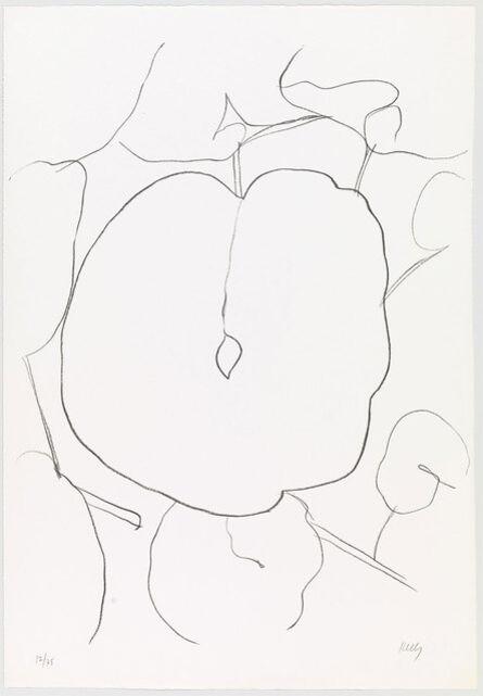 Ellsworth Kelly, 'Melon Leaf (Feuille  de melon) from Suite  of Plant Lithographs', 1965-1966