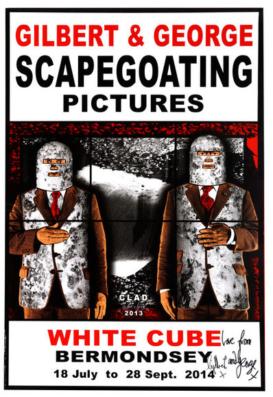 Gilbert and George, 'A Collection Of 5 Exhibition Posters'