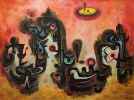 Emil Bisttram, 'Quetzacoatl', 1954