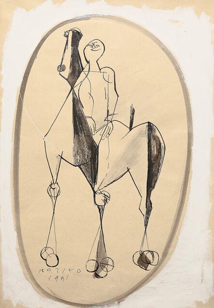 Marino Marini, 'Giocoliere', 1951