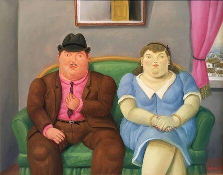Fernando Botero, 'Couple on a Sofa', 1998