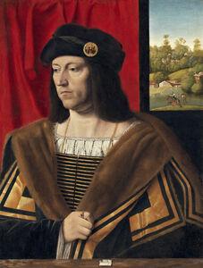 Bartolomeo Veneto, 'Portrait of a Gentleman', ca. 1520