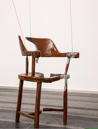 Urs Fischer, 'Chair for a Ghost: Urs', 2013