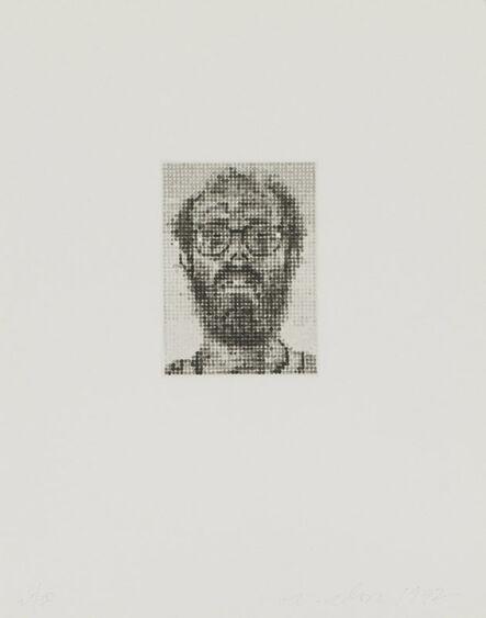 Chuck Close, 'Self-Portrait', 1992