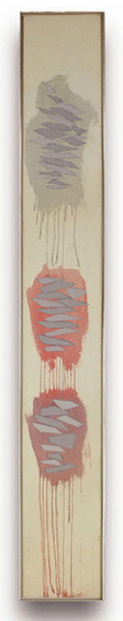 Robert Goodnough, 'Vertical Statement', 1972