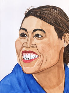Rudy Shepherd, 'Alexandria Ocasio-Cortez, member-elect of the US House of Representatives for New York's 14th District. At 29 she is the youngest congresswoman ever to be elected.', 2018