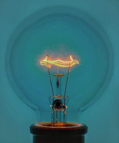 Amanda Means, 'Light Bulb 1 Blue (Version 2)', 2018