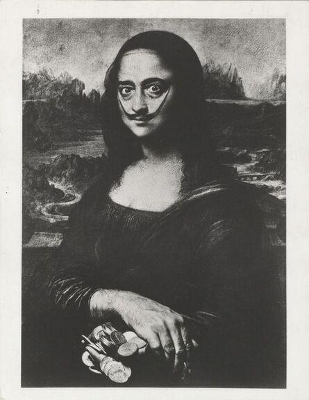 Philippe Halsman, 'Dali as a Mona Lisa', 1954