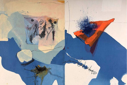 Paul Rebeyrolle, 'abstract', 1967