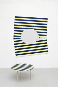 Päivi Takala, 'Renovation (blue and yellow)', 2018