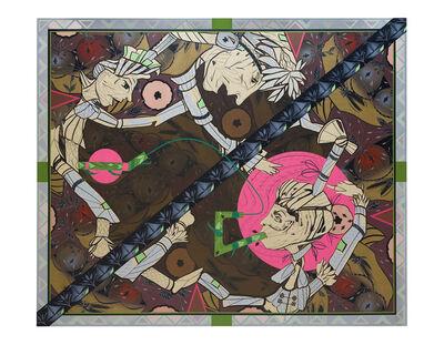 Lari Pittman, 'Found Buried #2', 2020