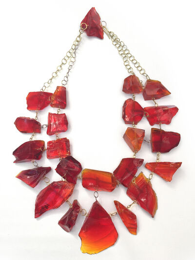 Philip Sajet, 'Red necklace', 2020