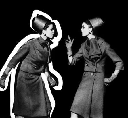 William Klein, 'Dorothy arguing with Dorothy, Paris ', 1962