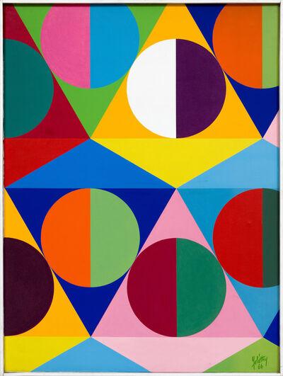 Attila Joláthy, 'Cell I. --- Sejt I.', 1966