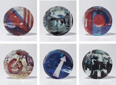 Robert Rauschenberg, 'Guggenheim Retrospective Plates', 1997