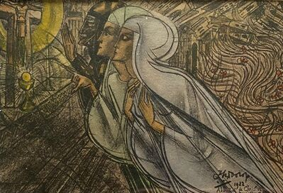 Jan Toorop, 'Allen de Christus kan alles redden', 1922
