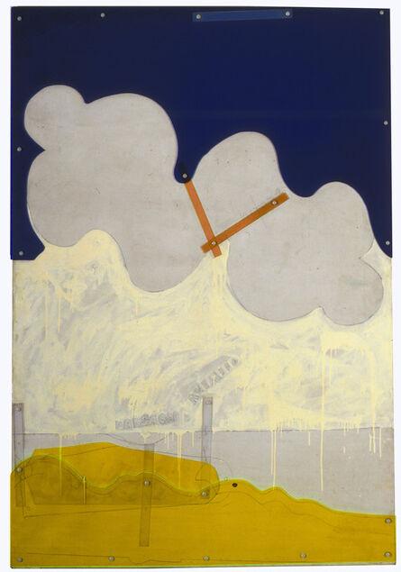 Mario Schifano, 'Paesagio anemico', 1965