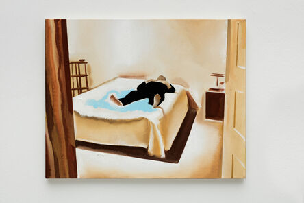 Wilhelm Sasnal, 'Untitled (Father in a Bed)', 2015