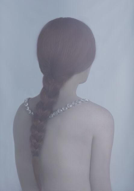Charlotte Mano, 'Jeune fille au collier', 2016