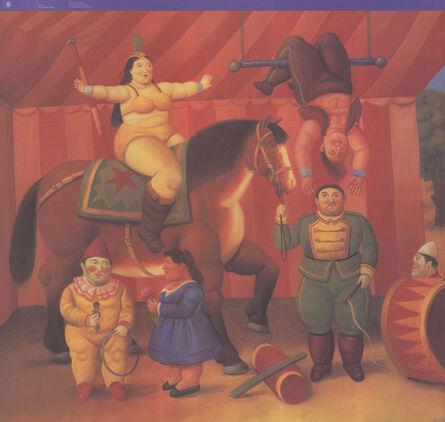 Fernando Botero, 'Gente Del Circo', 2009